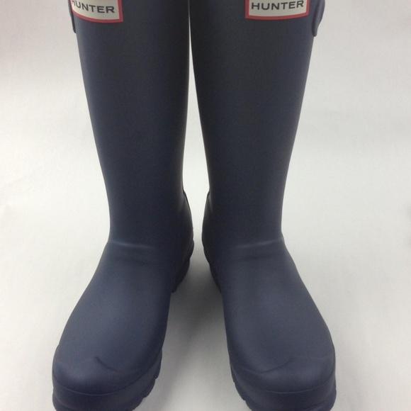 HUNTER Original Tall Rain Boot sz 6 runs bigger